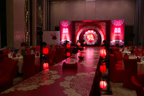 中式婚礼舞台
