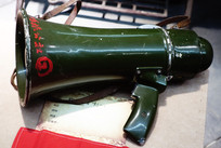 1960—1970年代人民公社的手持扩音喇叭