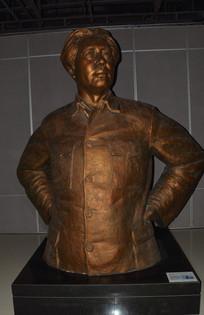 名人雕像毛主席