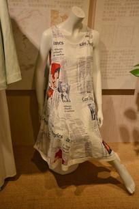 时尚潮流的麻棉服装