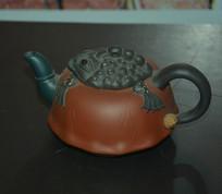 蟾蜍纹茶壶