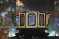 八菱形茶壶彩灯模型