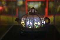 茶壶彩灯模型