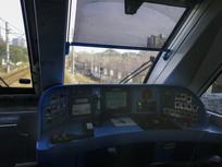 地铁操控台