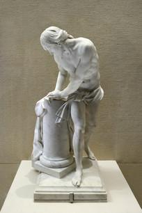 法国古代雕塑耶稣像