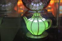 深腹茶壶彩灯模型