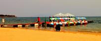 海上娱乐项目高清图片