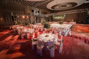 婚庆宴席舞台布置