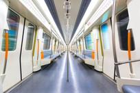 空的地铁车厢
