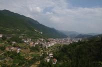 山区小镇风景