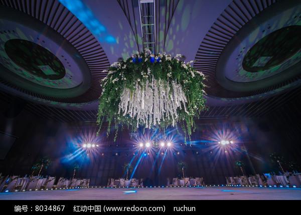舞台婚庆布置图片