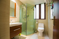 豪华酒店卫生间浴室
