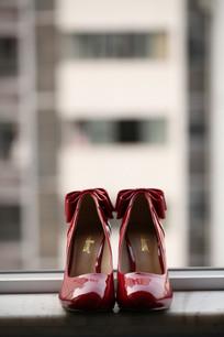婚礼上穿的高跟鞋