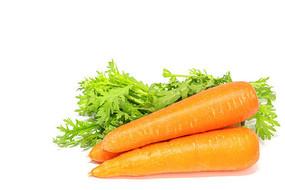 健康美味的红萝卜