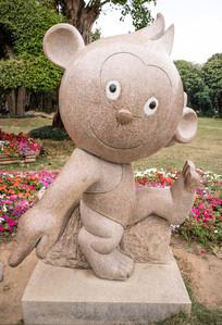 金丝猴雕塑