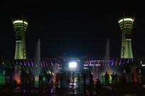 潍坊人民广场之夜