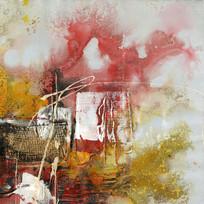 抽象画 欧美油画 高清无框画