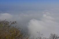 大自然云海现象