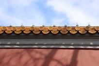 故宫红墙琉璃瓦