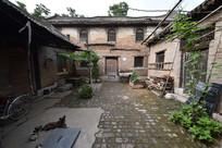河南林州任村镇四合院民宅