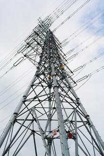 输电线铁塔