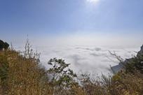 太行山上的云海奇观