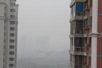 雾霾天的能见度