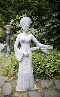 越南美女雕刻