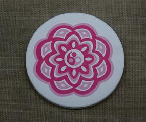 多层梅花形杯垫