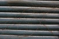 横纹木条背景墙
