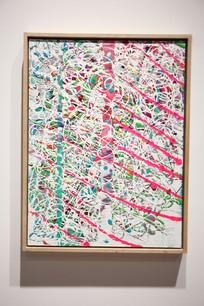 画廊展览的艺术绘画