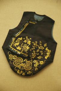 金丝绣蝴蝶儿童夹衣