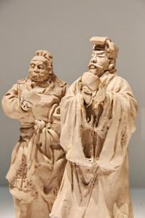 泥人张水浒人物雕像