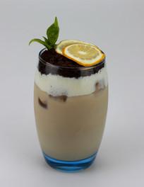 巧克力奶昔柠檬奶茶