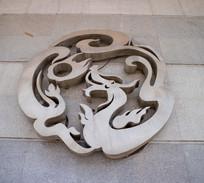 石雕中国龙