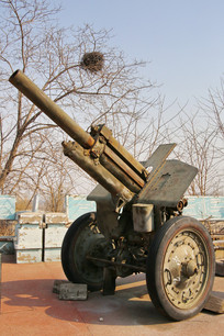 退役的加农炮