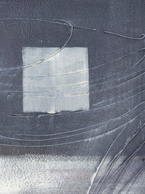 现代灰色调高雅抽象油画