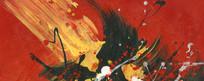 写真抽象油画高清素材