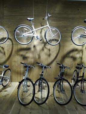 自行车展示