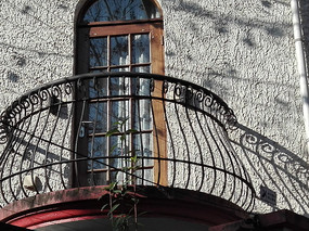 别墅小阳台