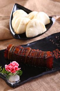 稻草松花肉配饼