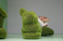 绿色小兔子