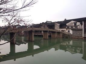 乌镇水乡古桥