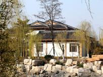 小区中式别墅建筑
