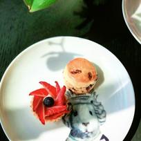 草莓塔和馅饼