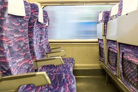 高铁车厢座椅