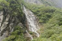 张家界景区山溪瀑布