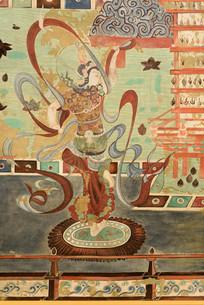 敦煌壁画之舞乐菩萨