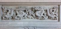 龙图案石雕