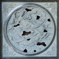 仙女图案石雕